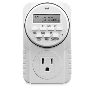 7 day grounded digital timer 305104(3)